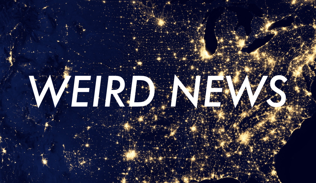 #87 – Weird News: Space Kentucky, & Others